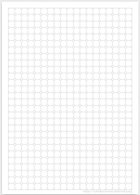 Schedarionline quadretti special 1 0 cm for Fogli da colorare e stampare
